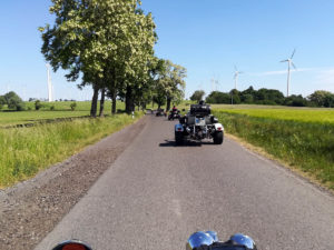 Ausfahrt an die Ostsee