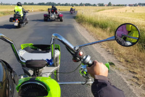 Ausfahrt nach Storkow