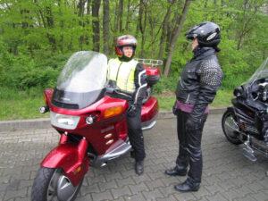 Ausfahrt nach Potsdam