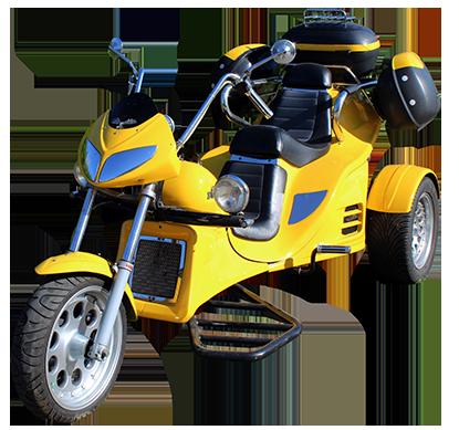 boom trike gelb
